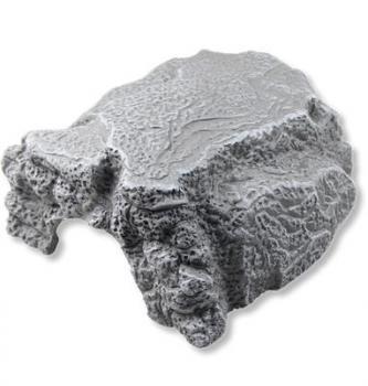 Felsenhöhle / Axolotlhöhle grau XL 23x21x11 cm
