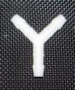 Verbindungsstück Luftschlauch, Y-Form 8mm